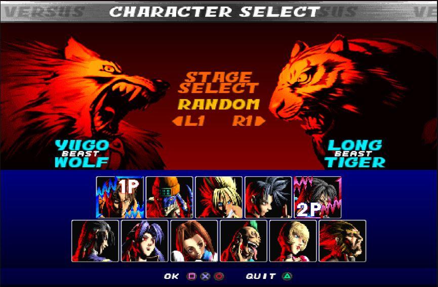 Bloody Roar 2 cho PC