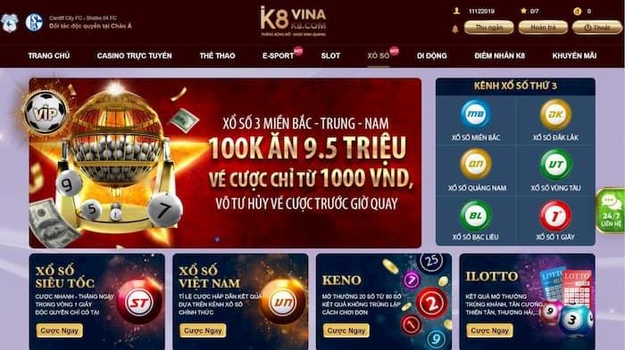 web đánh đề online K8