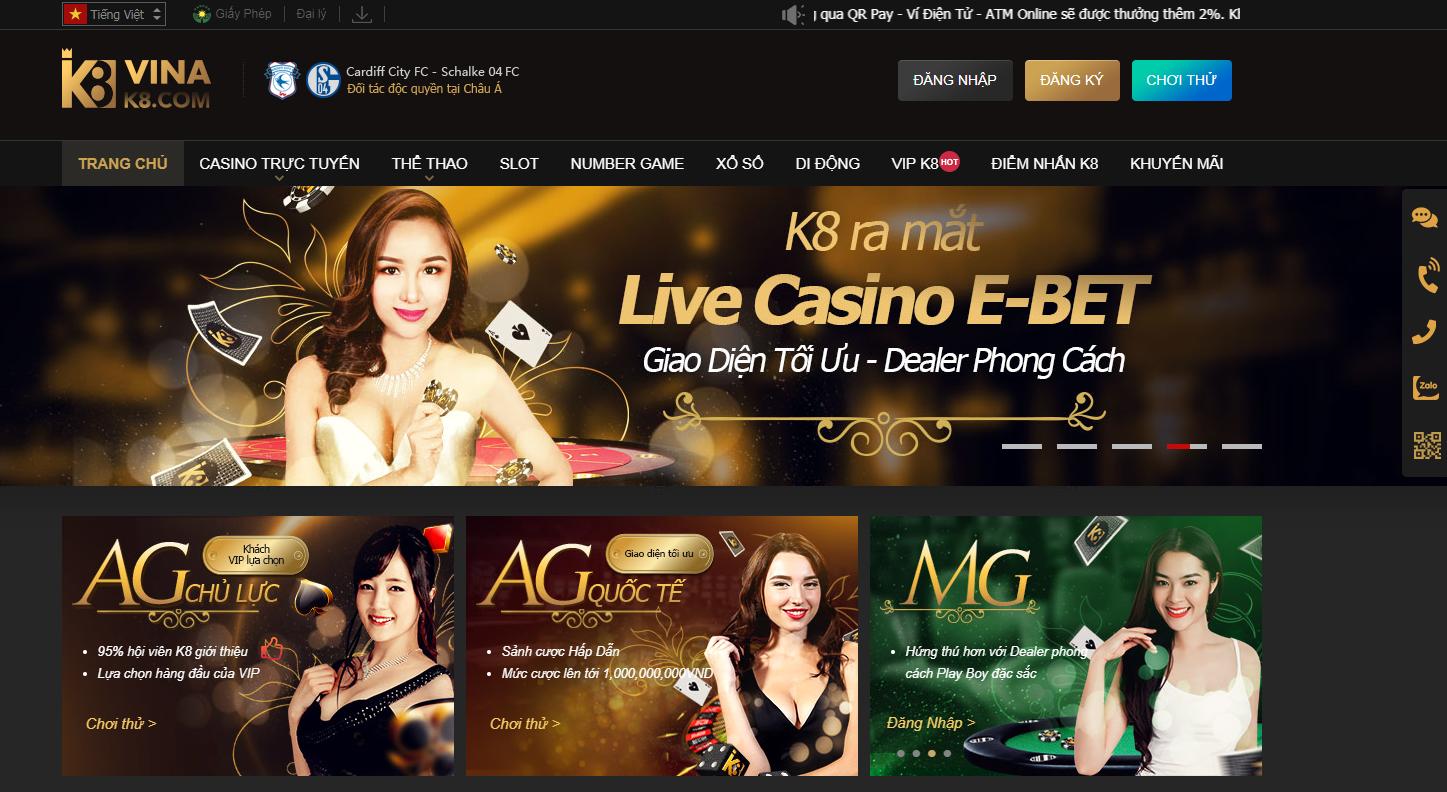 Casino K8